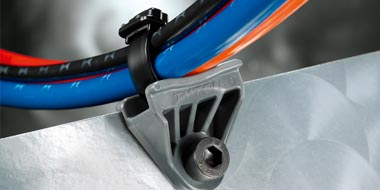 Heavy Duty Cable Ties and Mounts – Special Materials
