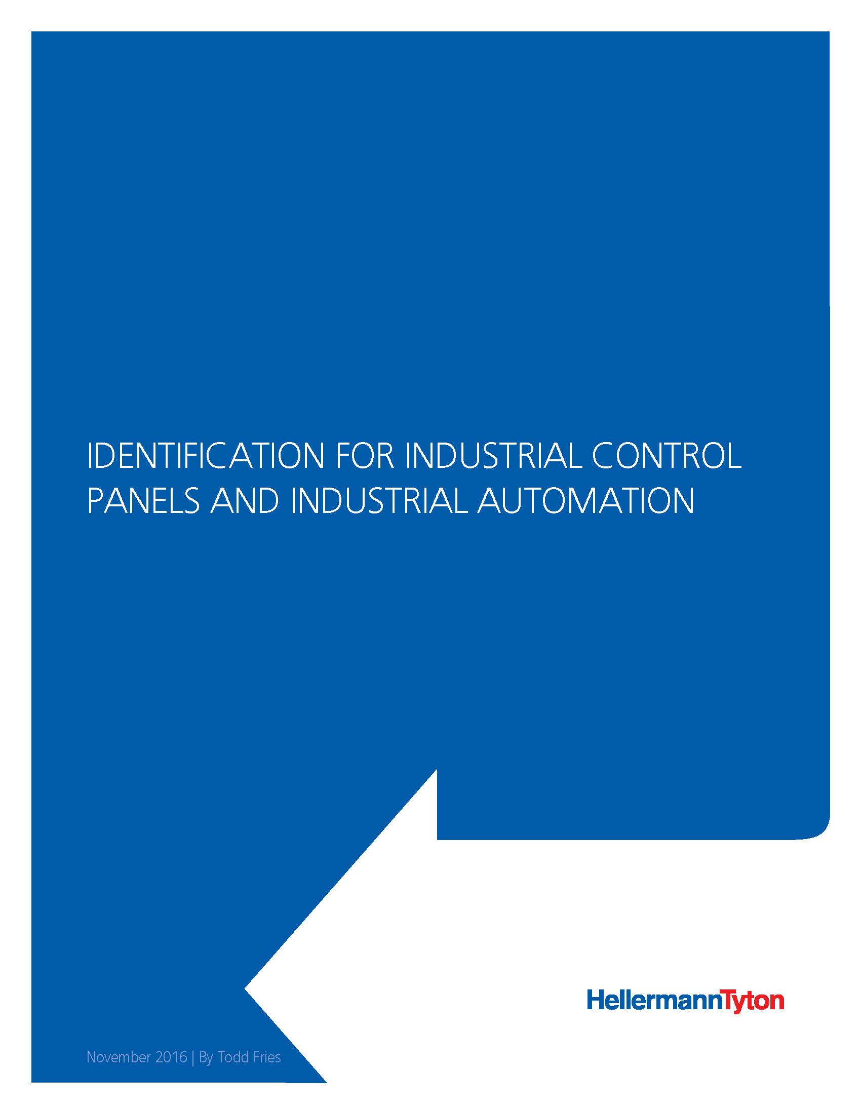 ID for Industrial Control Panel & Automation